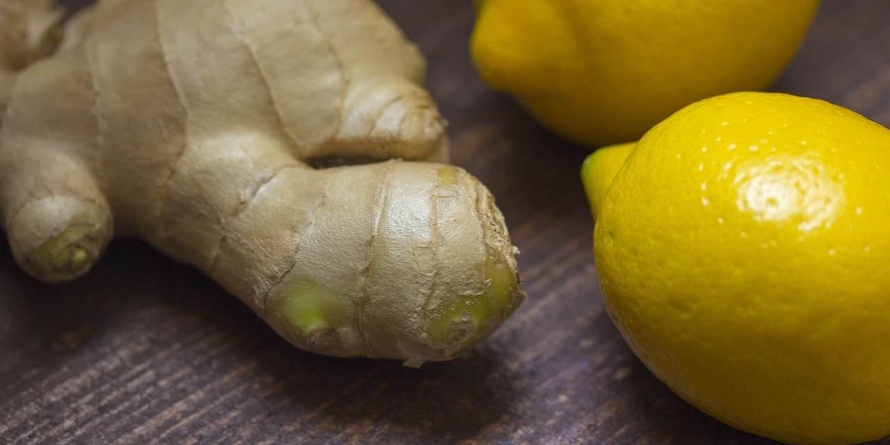 Beneficios y propiedades del té de limón con jengibre