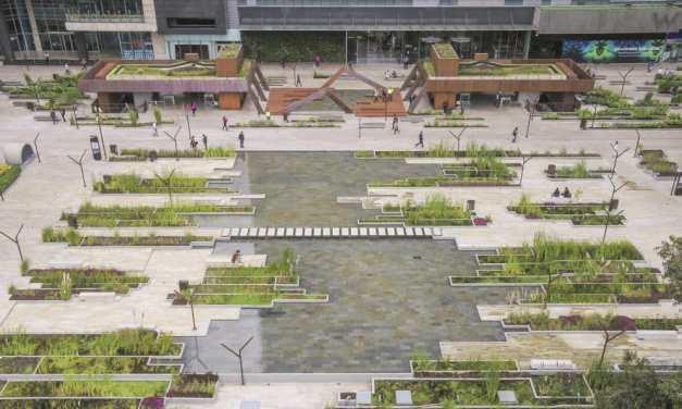 """""""Pantanal urbano"""" da vida al centro empresarial de Bogotá"""
