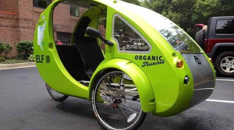 ELF, una bicicleta eléctrica con techo solar incorporado
