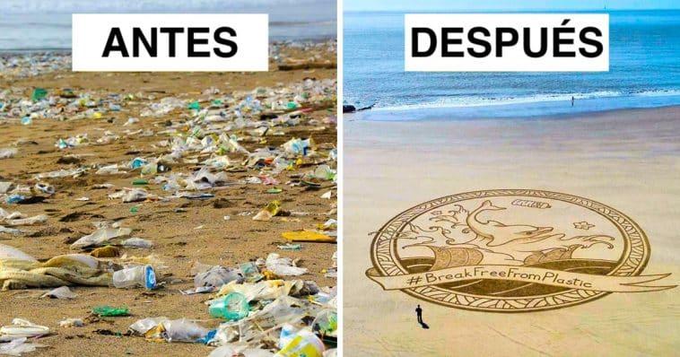 Una anciana de 70 años limpió 52 playas en un año, demostrando que nunca es demasiado tarde para comenzar a cuidar nuestro planeta