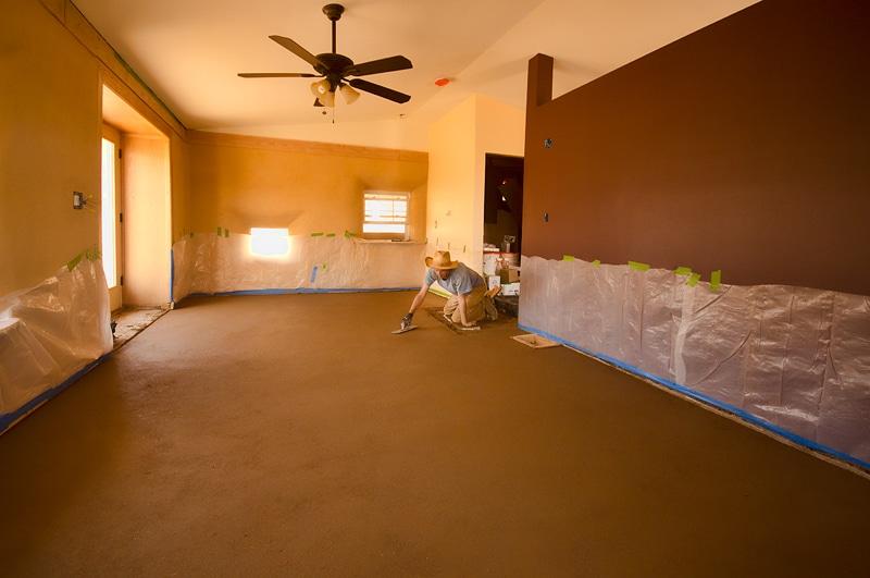 Como construir un piso de tierra o Adobe sin cemento