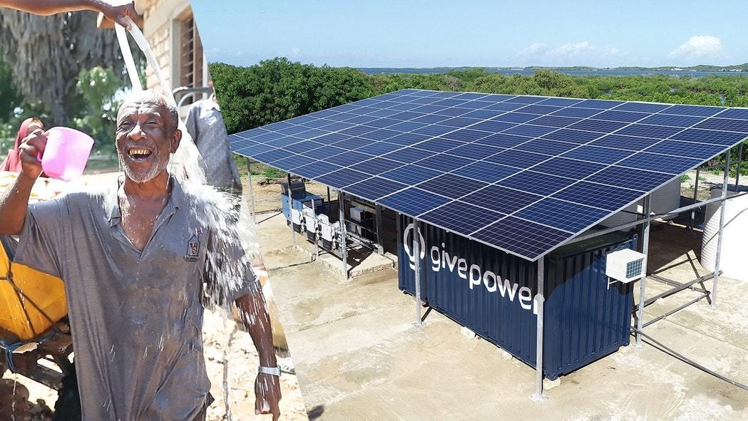 Planta solar convierte agua de mar en agua potable en Kenia