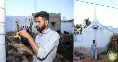 , Ingeniero indio fabrica turbina eólica que provee electricidad y agua potable