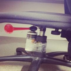 Air Horn Office Chair Desk Casters April Fools Joke S On You The Talon Complete