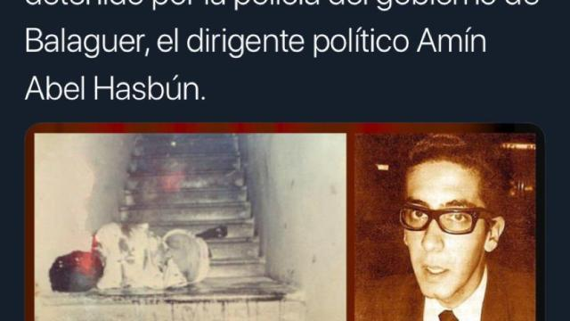 Amín Abel Hasbún, 48vo. aniversario de su vil asesinato.
