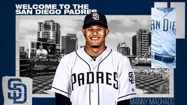 Manny Machado fue recibido en San Diego después de firmar con los Padres por 10 años y 300 Millones de dólares.