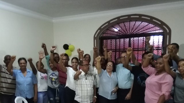El PHD juramenta Comité Municipal de Pimentel.