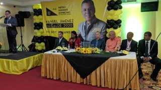 El Partido Humanista Dominicano hace formal lanzamiento de Manuel Jimenez a la  Alcaldía por SDE.