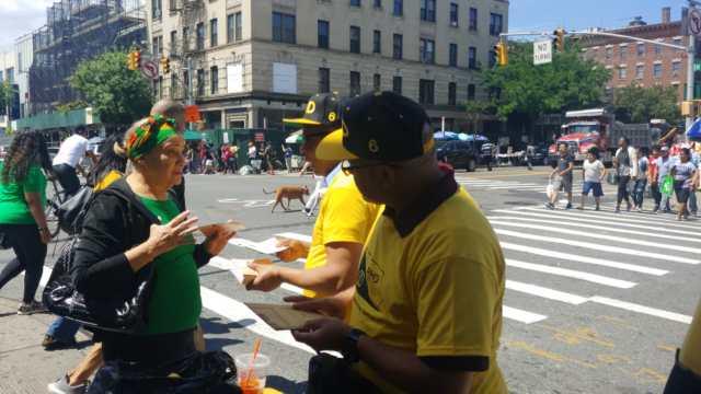 Seccional del Partido Humanista Dominica en New York, realiza con éxito la campaña conozca al PHD.