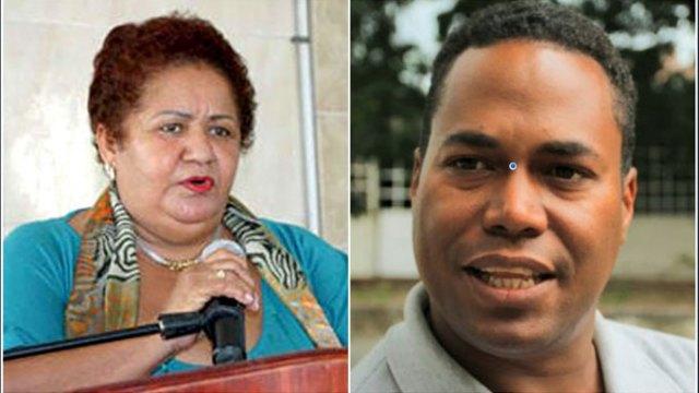 """Denuncian Diputada del PLD Miledys Núñez trata de """"sacar provecho político"""" a proceso de titulación de terrenos."""