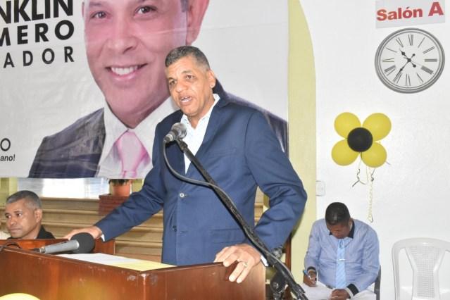 PHD, proclama a Franklin Romero, los diputados por la Provincia Duarte y los candidatos de la Región, así como la juramentación de 160 nuevos Miembros. -
