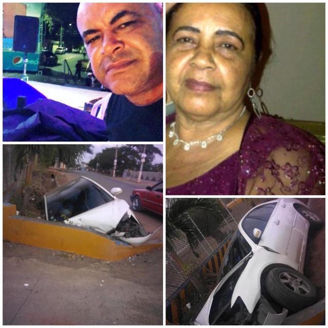 """Fallece en trágico accidente Madre del ex pelotero Willy Otañez mientras que su  hermano, el empresario """"Winston Sonido"""" se encuentra en delicado estado de salud."""