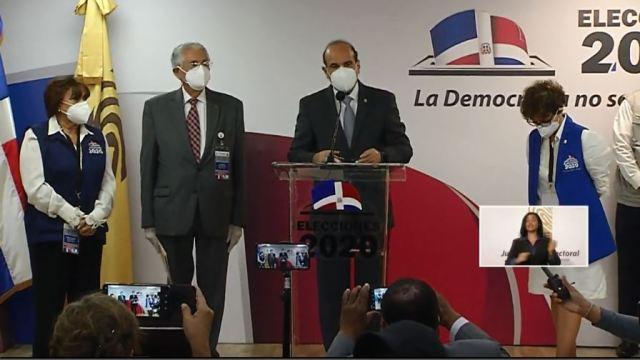 JCE realiza declaración de ganadores a Senadores y diputados al PARLACEN