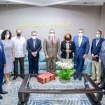 Alta Comisión del PHD visita Pleno de la JCE.