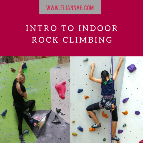 Intro to indoor rock climbing