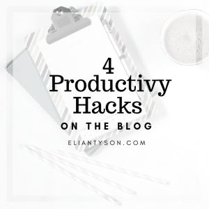 4 Productivity Hacks for Small Business Owners