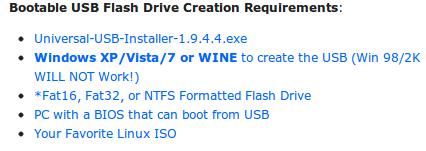 ubuntu install usb