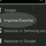 android importar e exportar lista de contatos