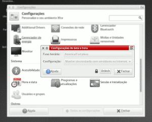 Ubuntu NTP sincronização data hora