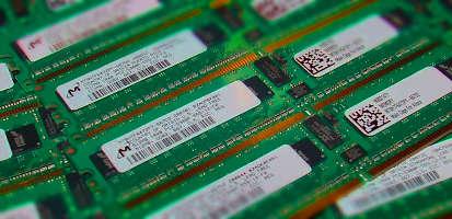 Pilha de pentes de memória RAM
