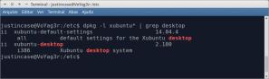 dpkg -l xubuntu* | grep desktop