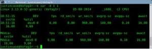 monitoramento com sysstat - comando sar
