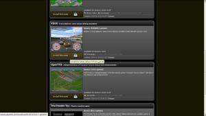 Captura de tela do site PlayDeb de instalação de jogos para Ubuntu
