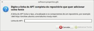 Adicionar canal de software no ubuntu