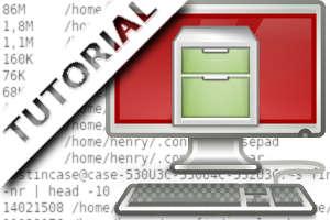 Como encontrar e listar os maiores arquivos e diretórios no sistema.