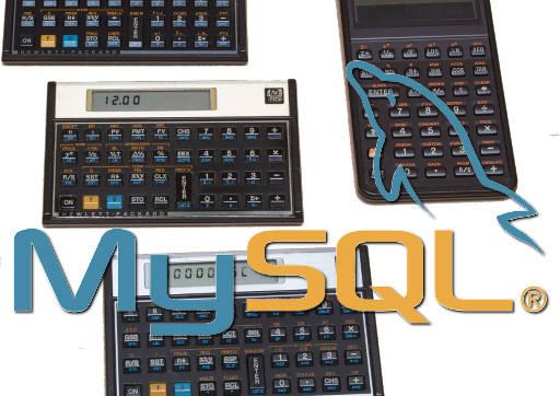 Calcluadoras HP 12c e MySQL