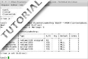 Como criar tabelas temporárias no MySQL