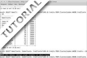 Capa do tutorial mysql - como resolver erro 1054 com cláusula where