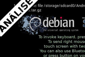 Experimente o Debian GNU/Linux no smartphone Android