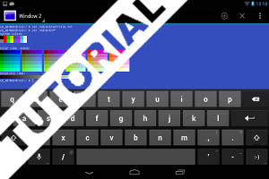 O Hackers Keyboard acrescenta funcionalidades ao smartphone Android