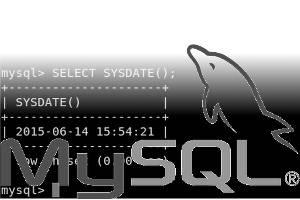 mysql sysdate() function