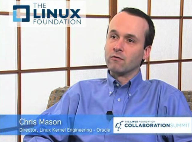 Chris Mason - Oracle - Btrfs File System