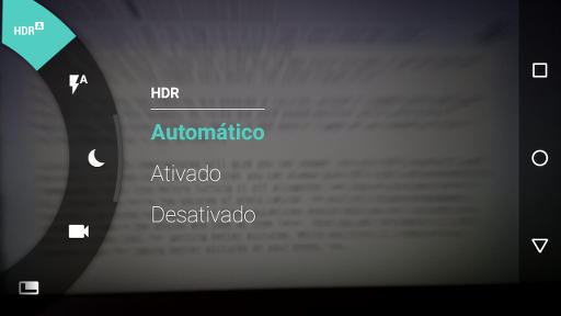 Modo HDR AUTOMÁTICO no Motorola Moto G 3