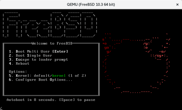 freebsd 10.3 screenshot boot