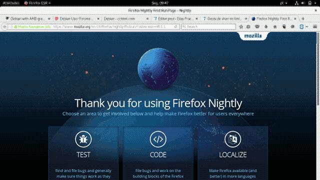 firefox nightly sreenshot