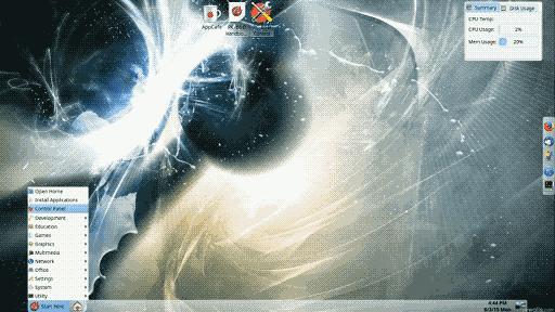 lumina pc-bsd screenshot
