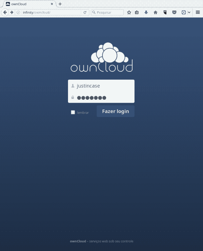 owncloud-login-screen
