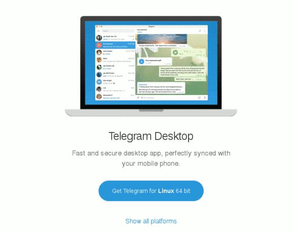 baixar instalar telegram desktop 64 bits