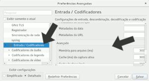 Ajustes detalhados do VLC Player