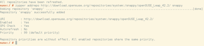 opensuse zypper add repository