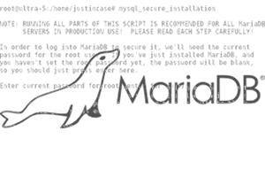 Uma medida simples de segurança que você precisa tomar após instalar o MariaDB