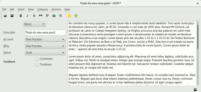 qtm editor main screen