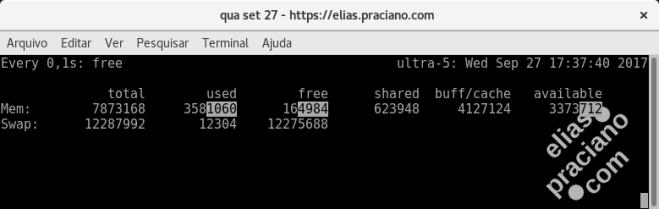 linux free memory