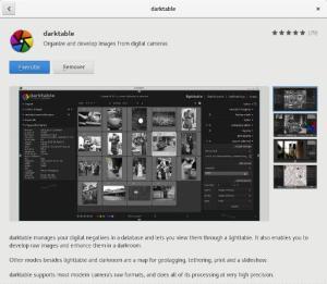 darktable linux install