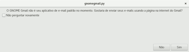 gmail padrão