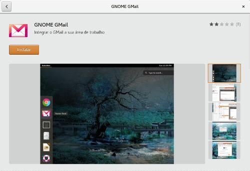 instalação do gnome-gmail
